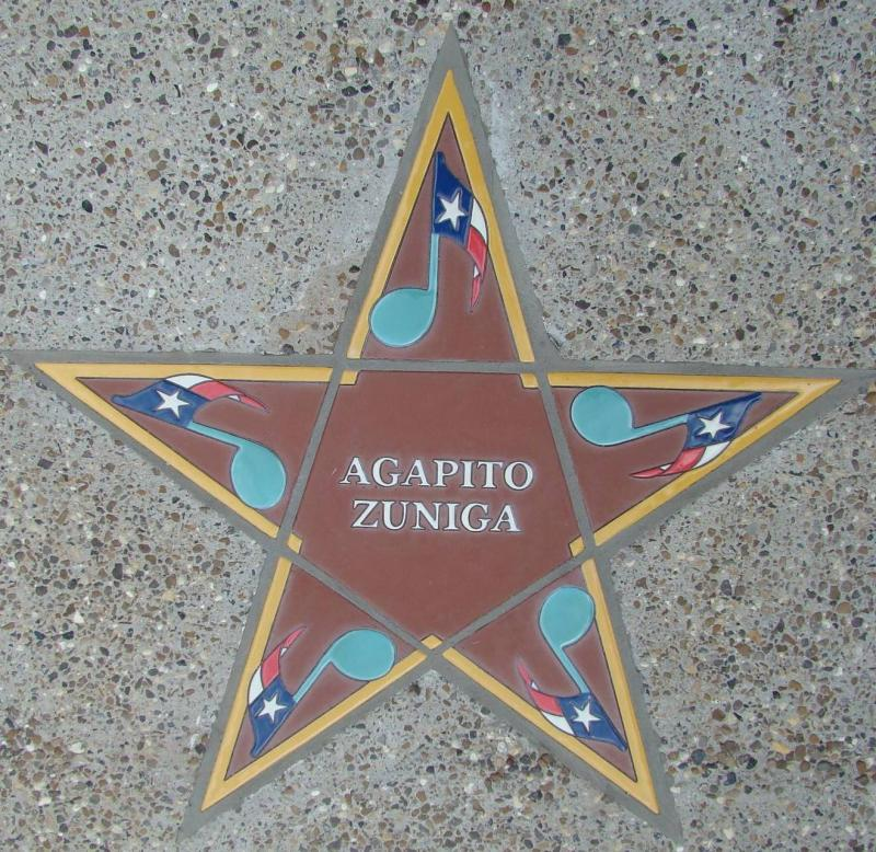 Agapito Zuniga's Star on the Walk of Fame